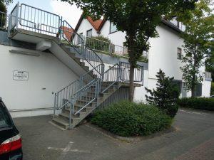 Aufgang Praxis Eberstadt