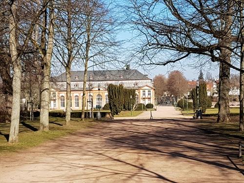 Blick in den Orangerie Park 1